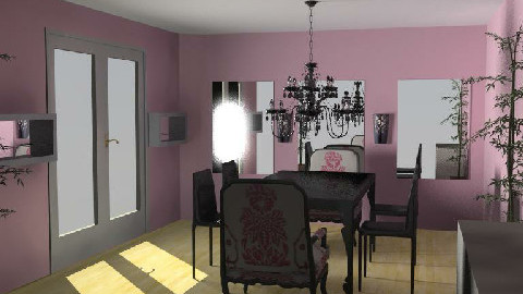 dining room1  - Dining Room  - by eleesha06