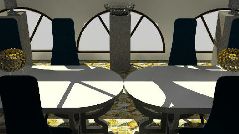 dining room view 1 - Dining Room - by The_Hunter_and_Gatherer