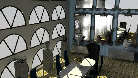 dining room view 2 - Dining Room  - by The_Hunter_and_Gatherer
