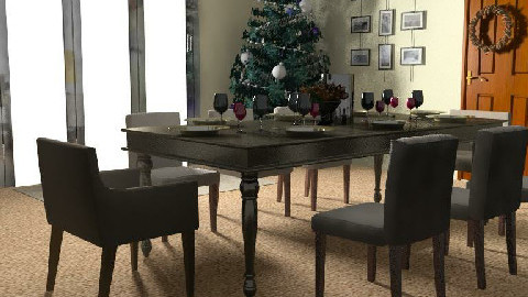 Christmas Dining - Dining Room - by sueeast18
