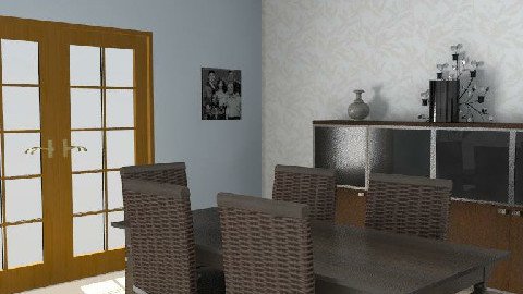 classic dining room - Classic - Dining Room  - by rose1058