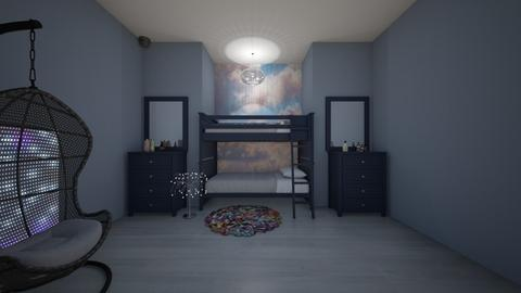 evies room - Modern - Bedroom  - by bumbleB33