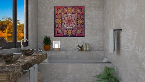 Moell - Bathroom  - by yonvie