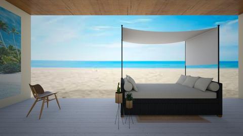 beach deck - by sosielundeen