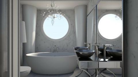Nakagi Capsule Room 2 - Modern - Bathroom  - by wagner herbst padilha