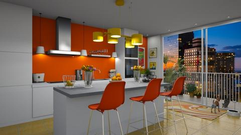 Colorful Kitchen - Kitchen  - by GraceKathryn