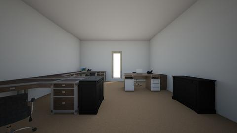 Layout Kantor Old - Modern - Office - by jtampubo