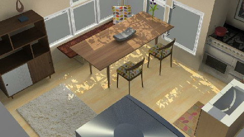Kitchen and Dining Space - Dining Room  - by Branimir