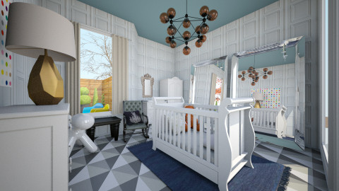 Nursery  - Glamour - Kids room  - by mide93