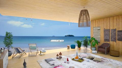 Coastal Living WIP - Living room - by RHD
