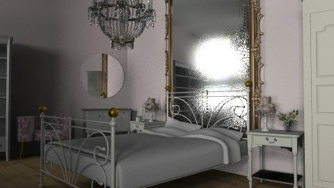 V is for Vintage ~ View 2 - Vintage - Bedroom  - by Coco_Juno