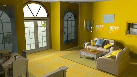 yellow studio apt - Country - by kellyadolph