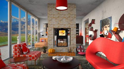 Bestie - Living room  - by augustmoon
