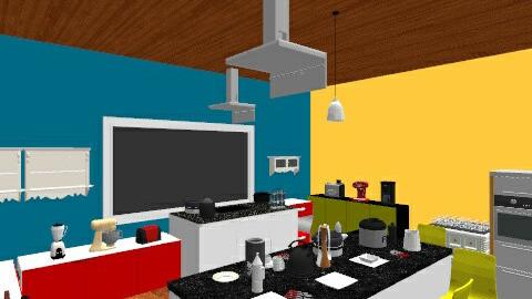 apar - Retro - Kitchen  - by andresmarquez