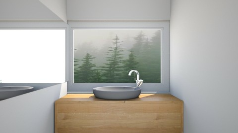 Dining Room - Minimal - Bathroom  - by daniellelouw