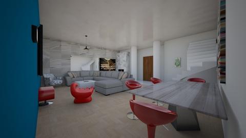 living room 9 de julho  - Living room - by anaclaraalvesjianelli