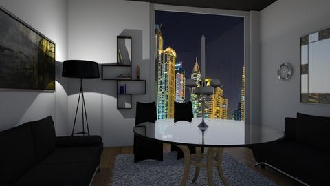 rustik - Rustic - Living room  - by vallequeen