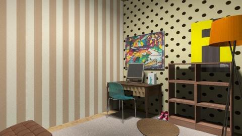 work room - Office  - by filipe alberto krug