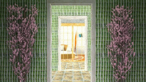 Endless entry - Minimal - Garden  - by sacerdote
