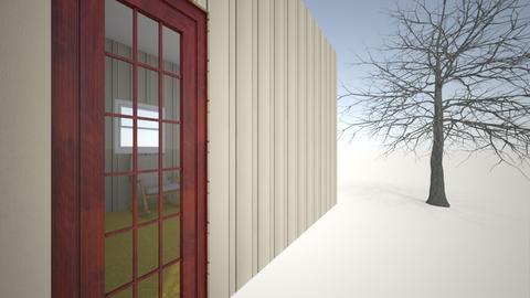 proyecto 2 - Minimal - Bedroom  - by VICTOR GARCES