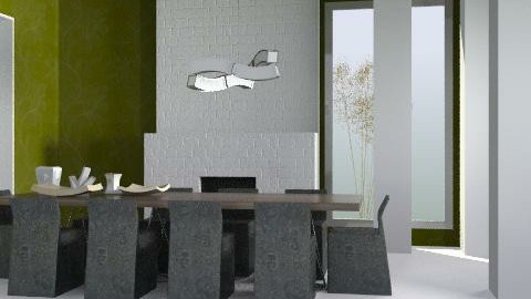 Calm Dining Space - Minimal - Dining room  - by 3rdfloor