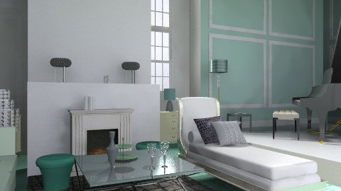 mint - Classic - Living room  - by KatjaHM