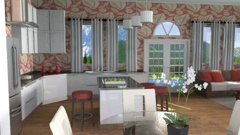 Summer Kitchen - Country - Kitchen  - by channing4