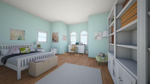 Teen Bedroom 1 - Classic - Bedroom - by mollyymaryy