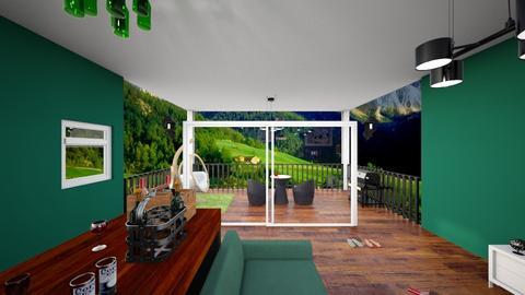 lantai2 - Living room  - by enotbillies
