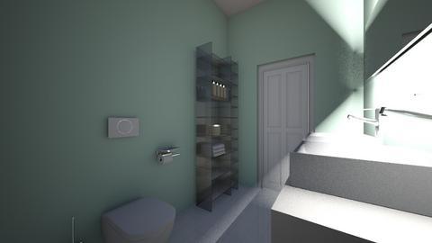 hall bath 8th - Bathroom - by stewartag