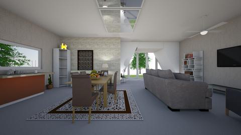 sala de estar confortavel - Living room  - by taiscstt