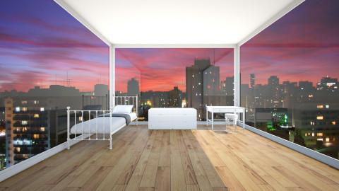 Dorm - Bedroom - by meri_4life