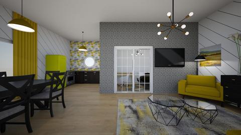 yellow apt - by Thamara Cummer