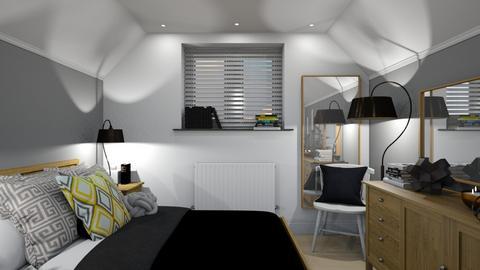 Upstairs Bed - Bedroom  - by KittyKat28