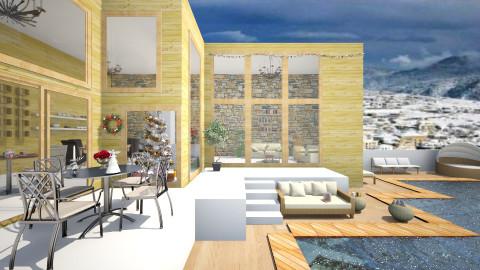 Modern Villa - Modern - Garden  - by christoforos