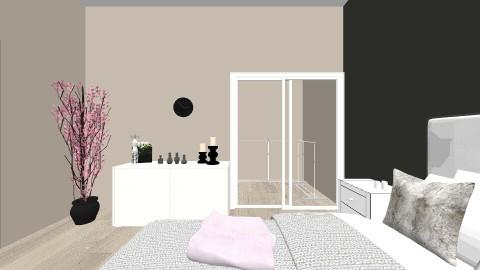 Kareens Bedroom - Bedroom - by Clodia Kareen