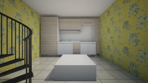 Kitchen - Retro - Kitchen - by Cecilia Spaugh