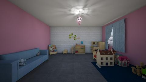 Girls room - Kids room  - by Noa Jones