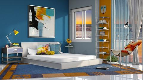 M_ The power of colors - Bedroom  - by milyca8