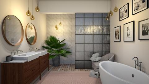 mc blush - Modern - Bathroom  - by Ripley86