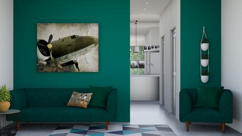 green living - Living room  - by Corzer