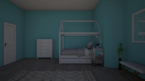 stylish adult bedroom - Bedroom  - by Kat Hughes