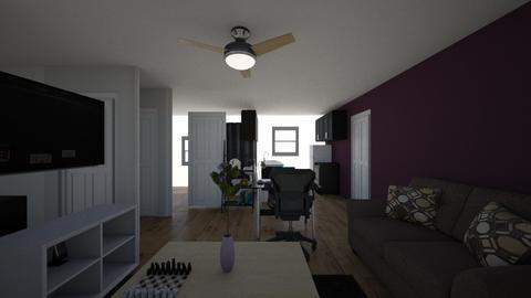 MiHome - Minimal - Living room  - by JustinHatred