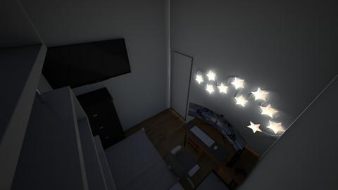 mi cuarto remodelado 1 - Modern - Bedroom  - by rottle