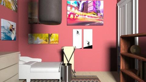 Dream room Hammock - Rustic - Bedroom  - by clari880