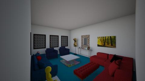 Living room - Modern - Living room - by Anousheshakaib