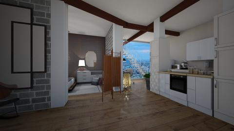 City Apartment 1st floor - Modern - by Peachy___Creme