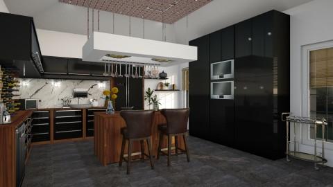 Evening kitchen - Modern - Kitchen - by WujdanJeyad