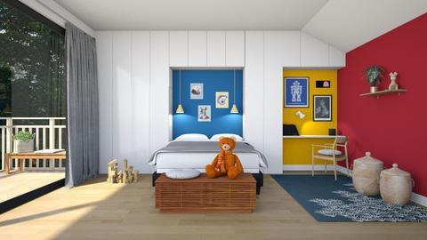 Kids attic - Bedroom  - by BettyMalaga