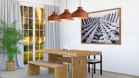 My 1st Design - Dining room  - by lil luna kit